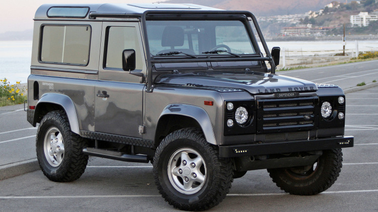 1997 West Coast Defenders Land Rover Defender 90 First Drive