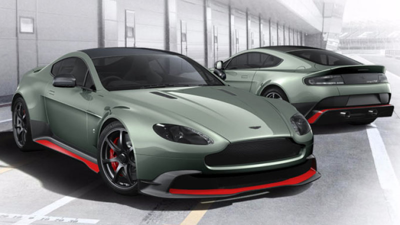 You can't buy an Aston Martin GT8, but you can configure one