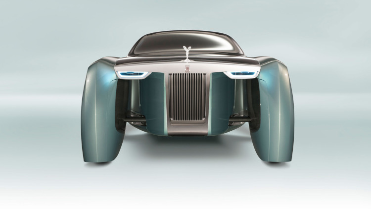 Take a look at the shocking Rolls-Royce Next 100 concept
