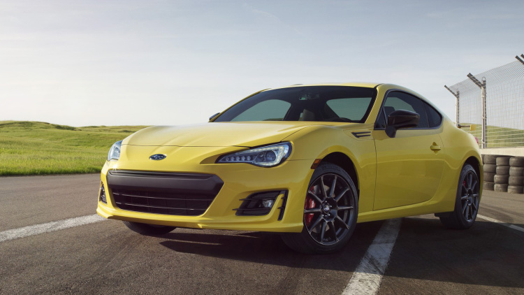The 2017 Subaru BRZ Series.Yellow is, wait for it, yellow