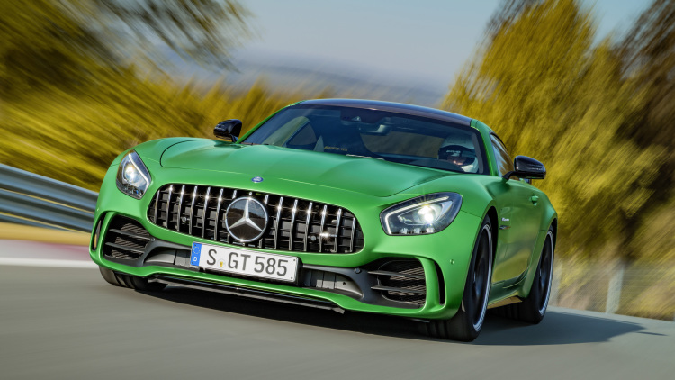 Meet the 2018 Mercedes-AMG GT R