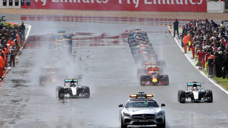2016 British Grand Prix kept mostly calm and carried on