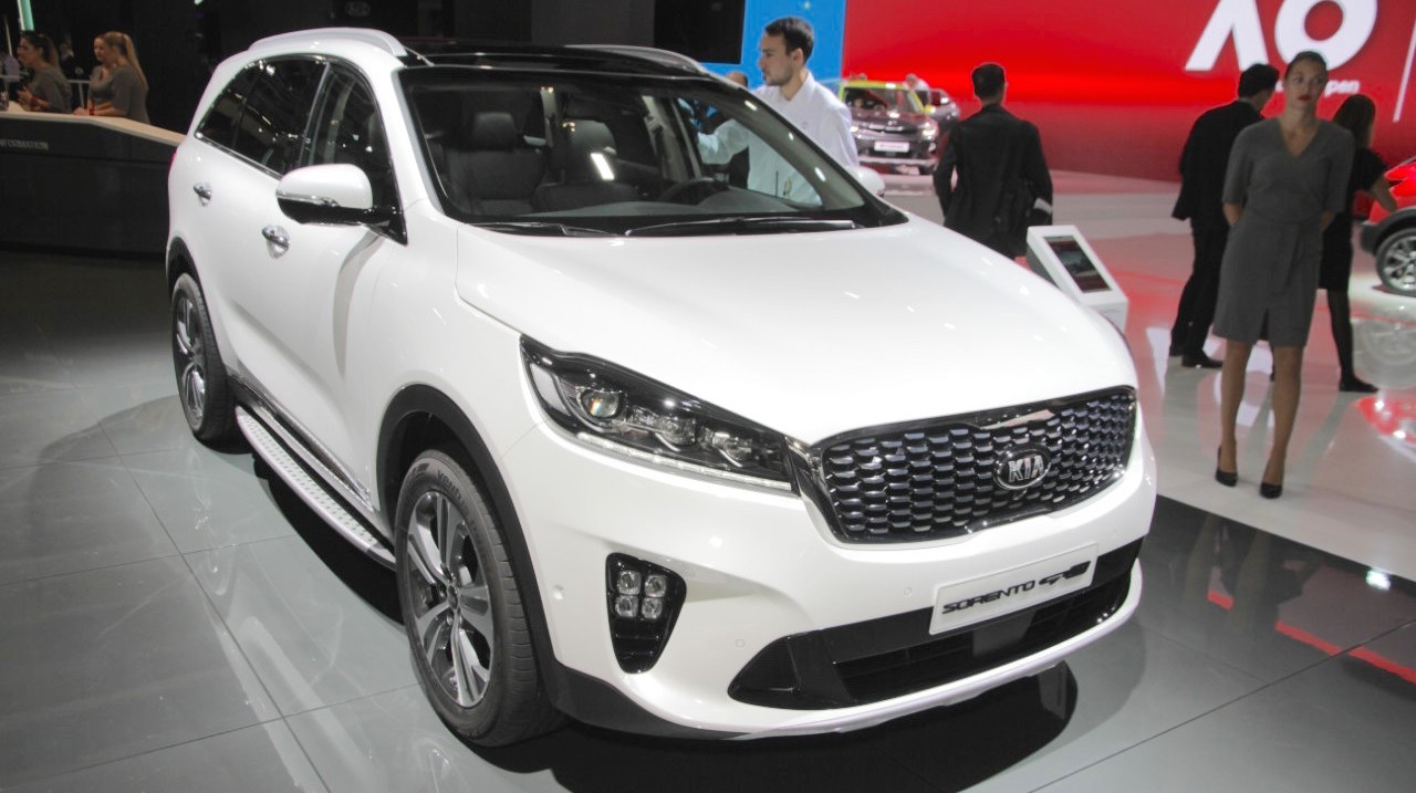 2018 kia sorento gt line showcased at frankfurt international motor show. Black Bedroom Furniture Sets. Home Design Ideas