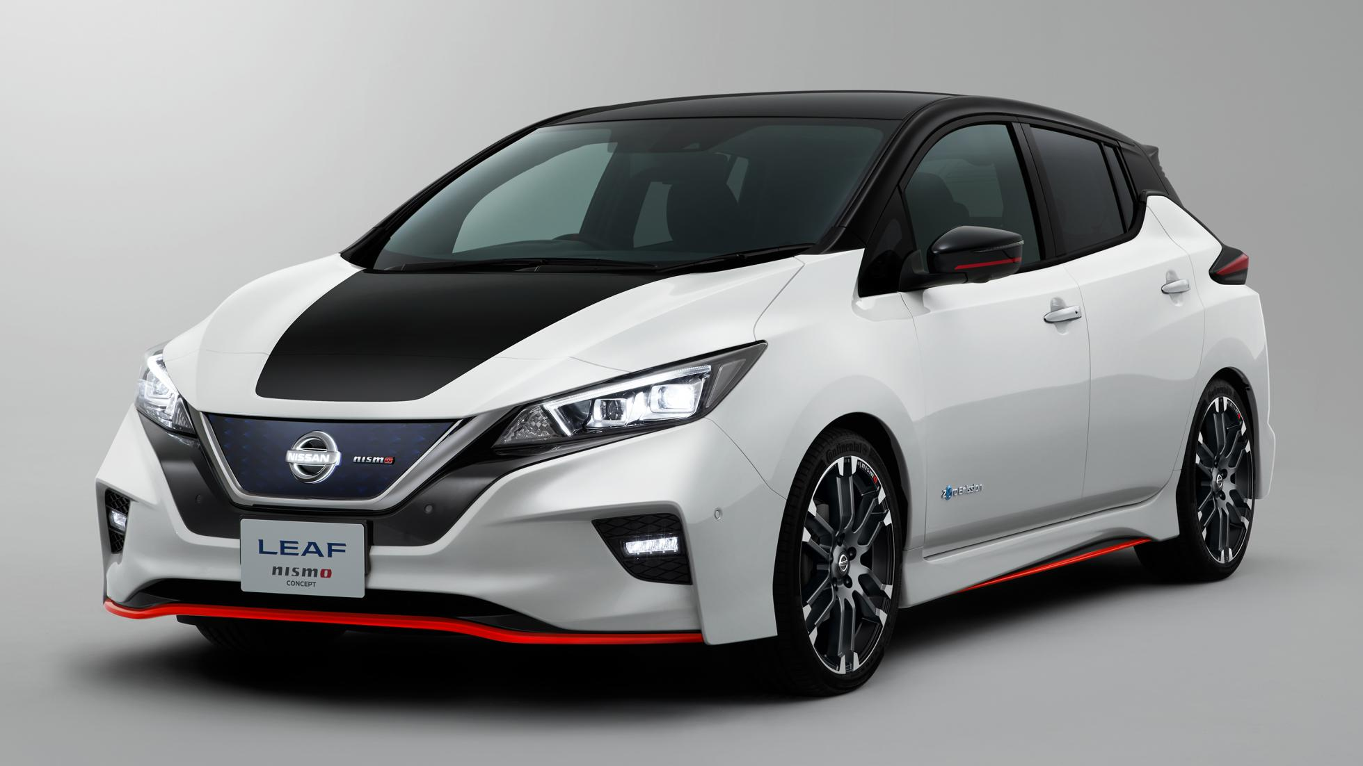 Nissan Leaf Nismo concept brings better handling and aerodynamics