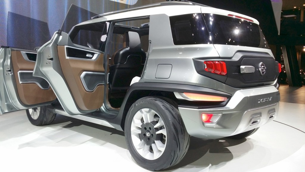 SsangYong electric SUV coming in 2019