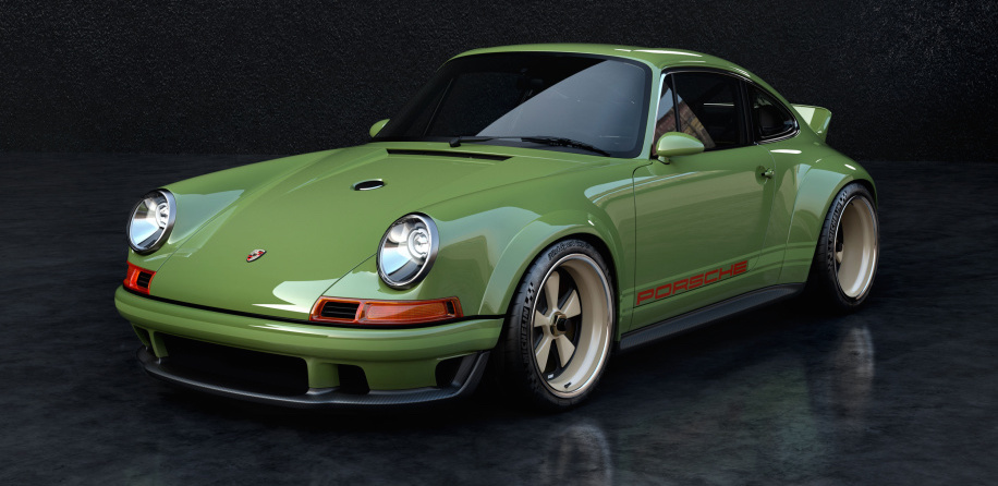 This is the first Porsche 911 to get Singer and Williams' 500-horsepower engine