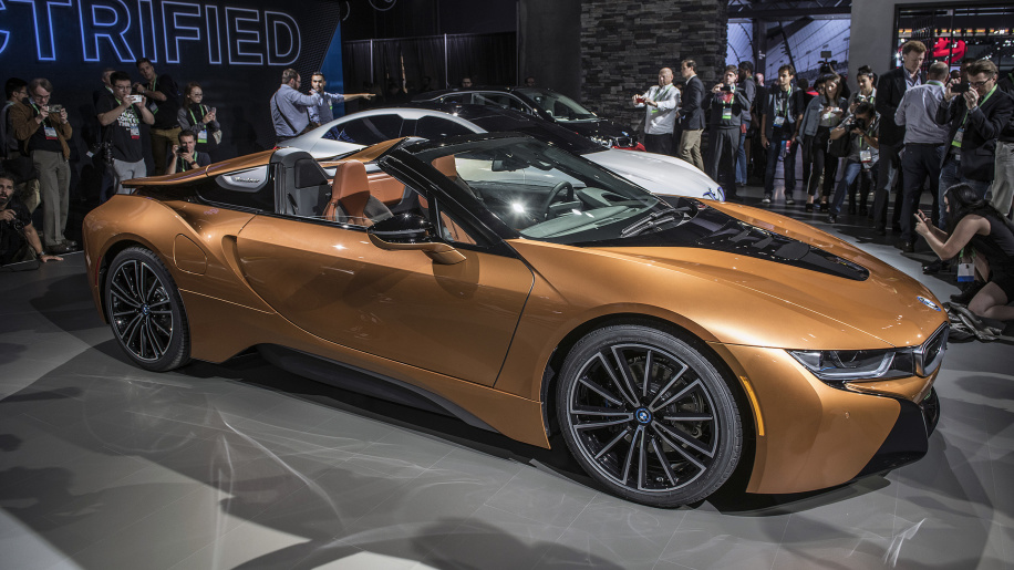2019 Bmw I8 Roadster Revealed More Power More Range More Sun