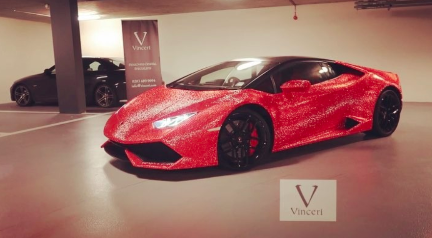 Lamborghini Huracan With 1.3m Swarovski Crystals Is A V10 Jewel