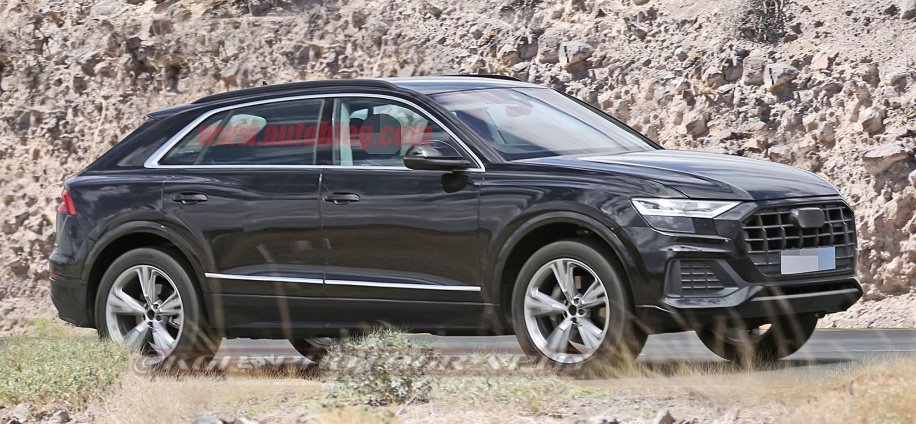 Audi Q8 flagship luxury crossover nearly revealed in spy shots