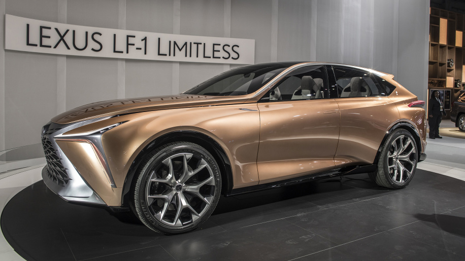 Lexus LF-1 Limitless luxury crossover concept is an intergalactic flagship