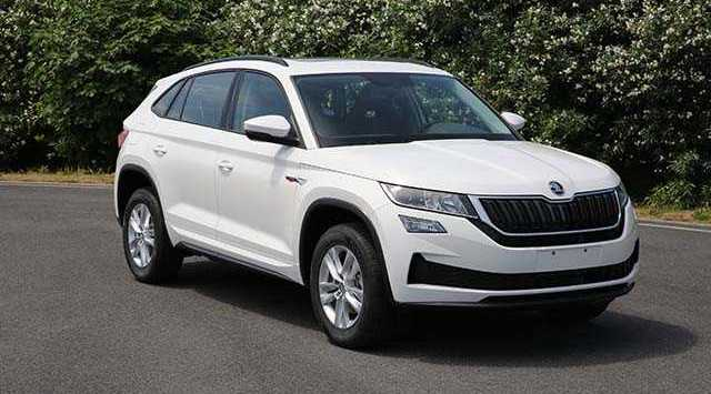 Skoda Kodiaq GT SUV Coupe photos leak online