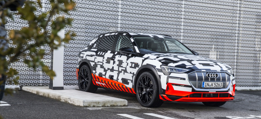 Audi launches serial production of E-Tron motors at Hungarian plant