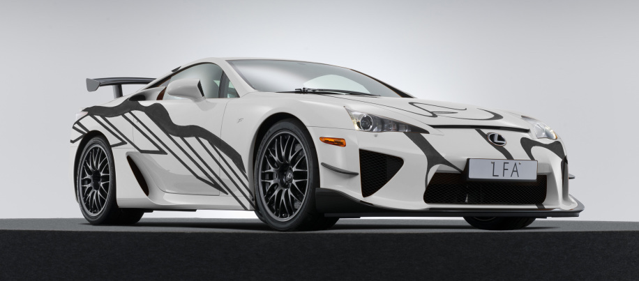 Lexus LFA art car is here to celebrate 10 years of Toyota performance