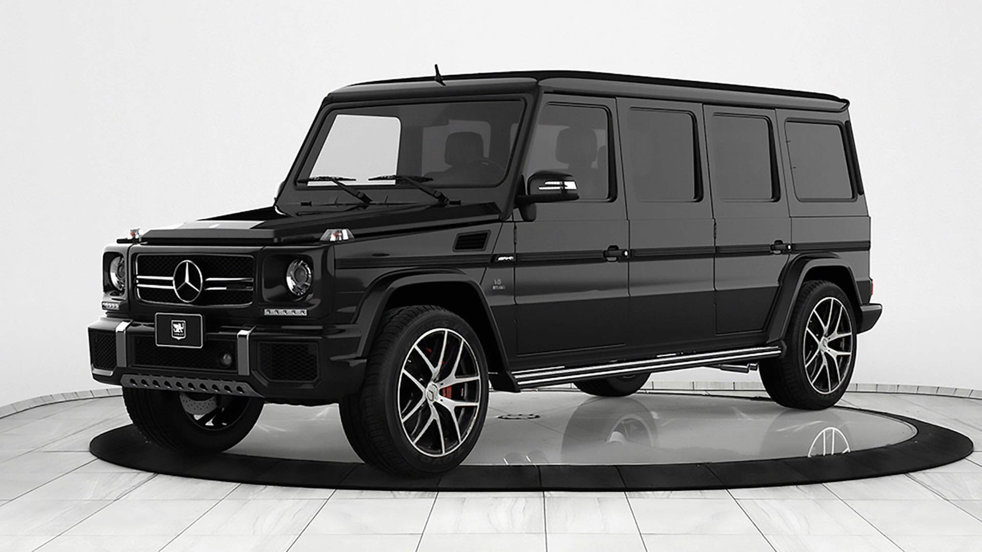 Armored Mercedes-AMG G63 Limo Demands Respect And $1.2 Million