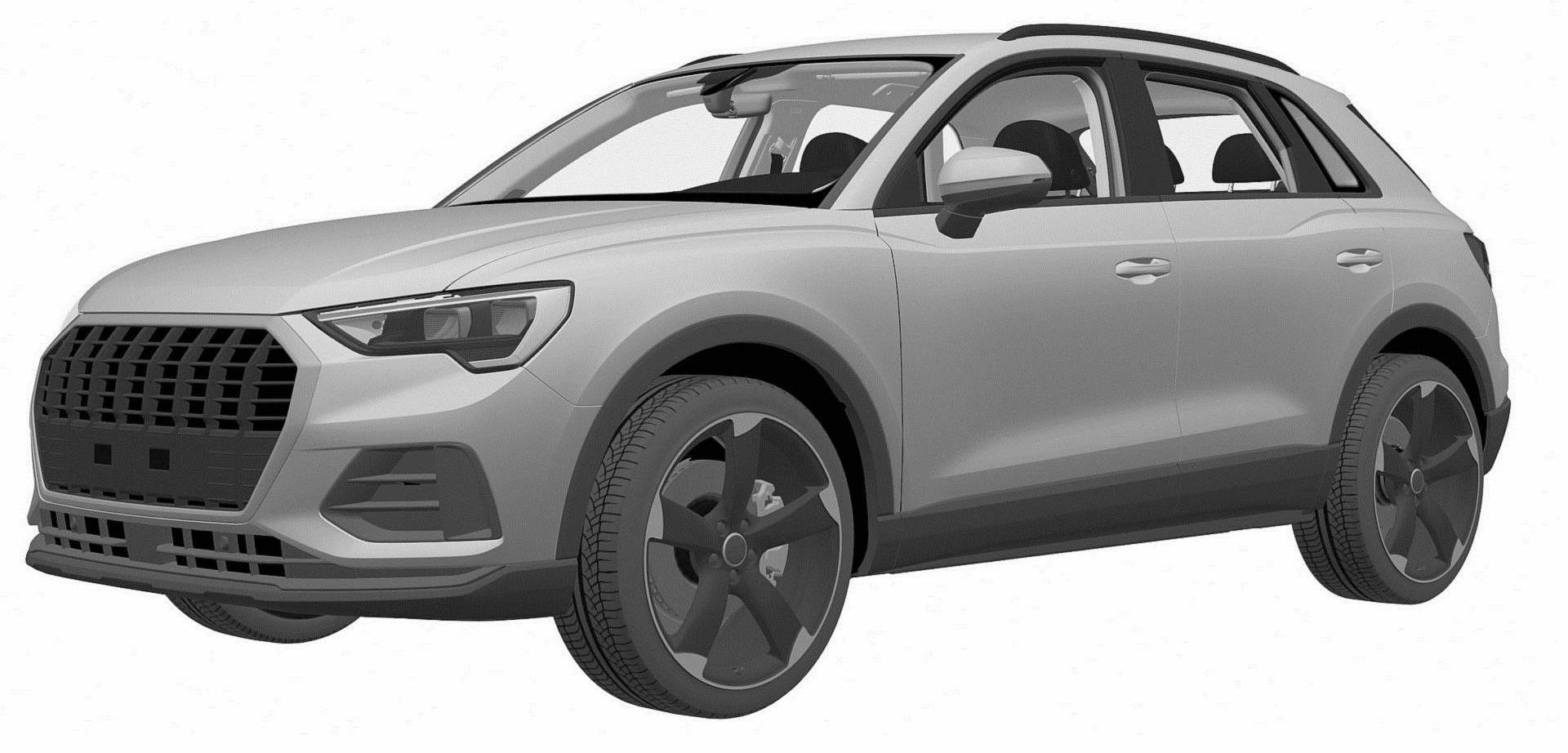 Mysterious New Audi Q3 Hits The European Patent Office