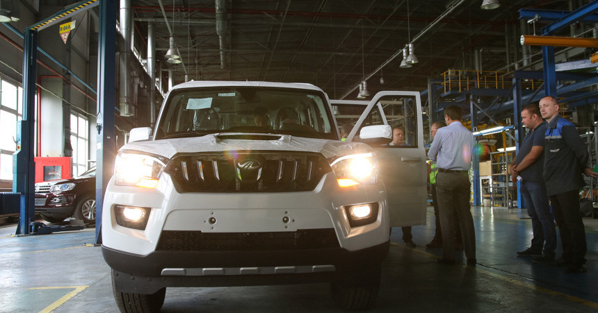 Mahindra Pik-Up (Mahindra Scorpio Getaway) likely to be launched in Belarus