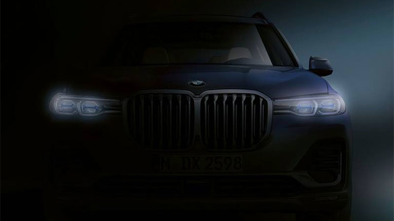 BMW teases X7 face before reveal later this month