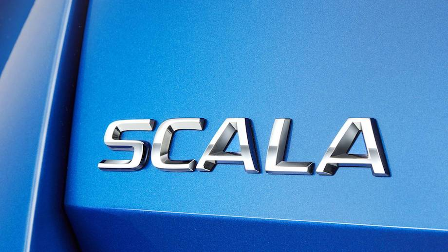 Skoda Reveals Scala Nameplate For New Compact Model