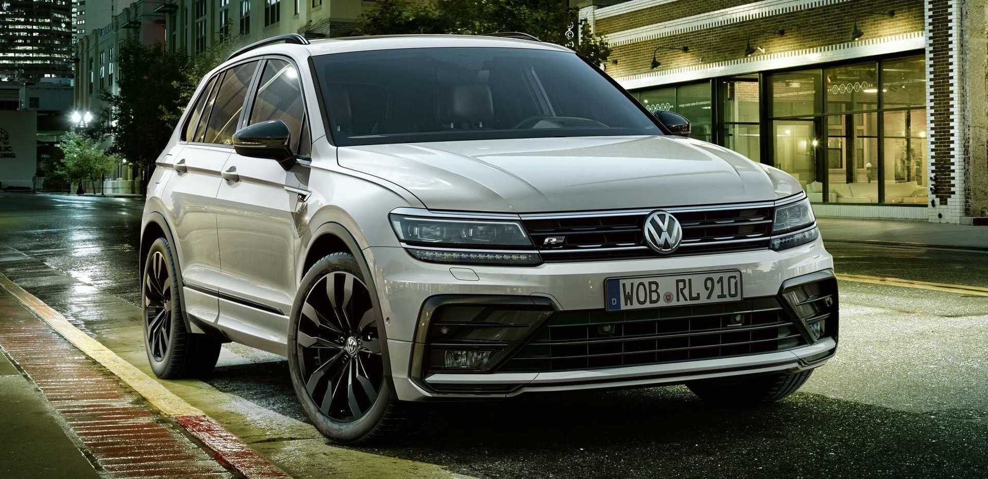 VW Tiguan Adds Pizzazz In Europe With Black Style Package