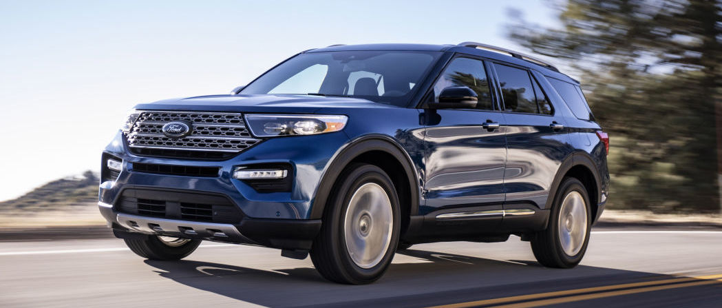 2020 Ford Explorer revealed with rear-drive platform