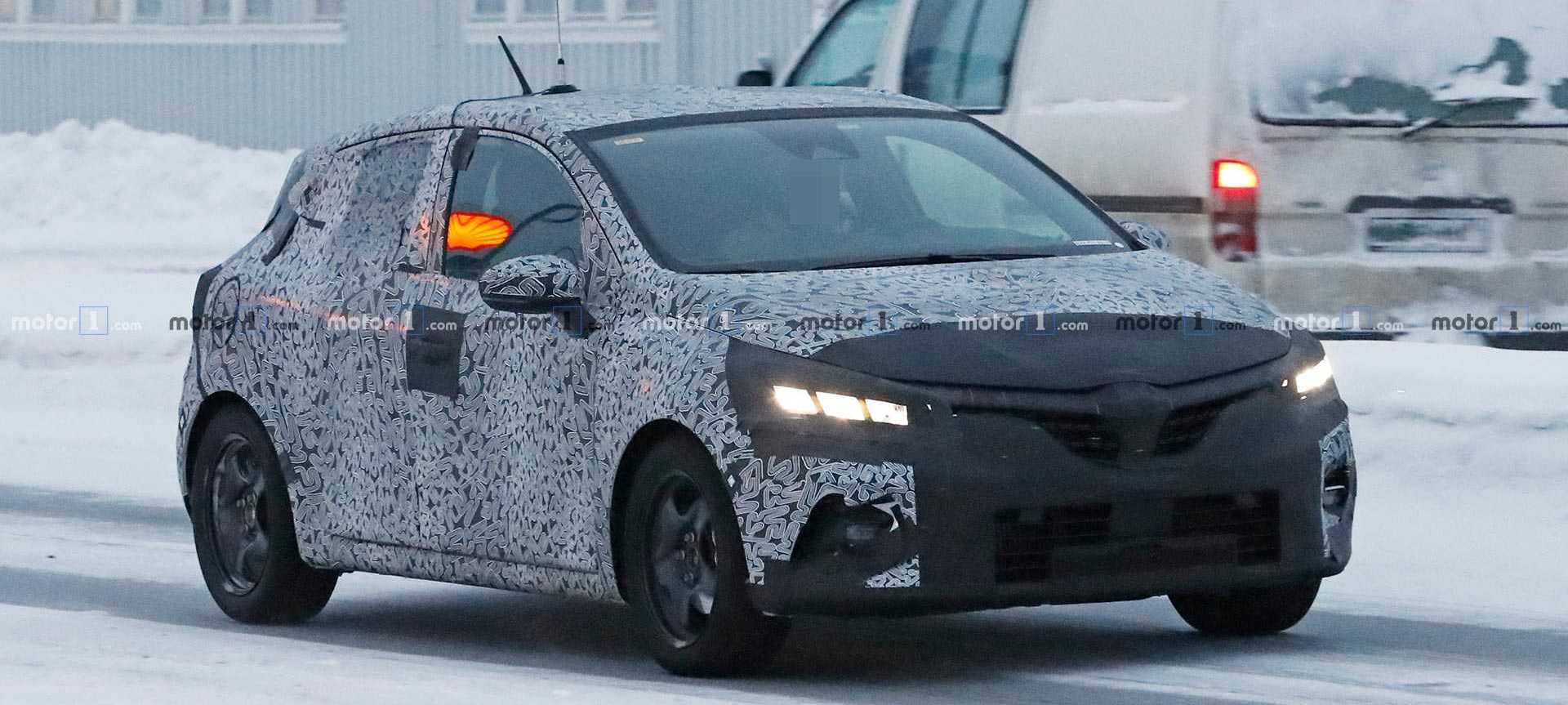 Renault Clio Spied In Revised Camo For Cold-Weather Testing