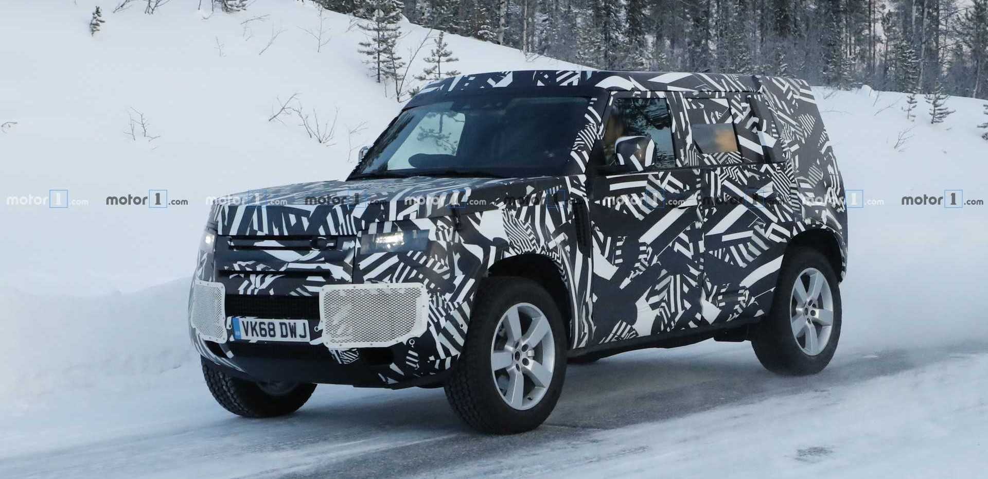 2020 Land Rover Defender Returns In Snowy Spy Photos
