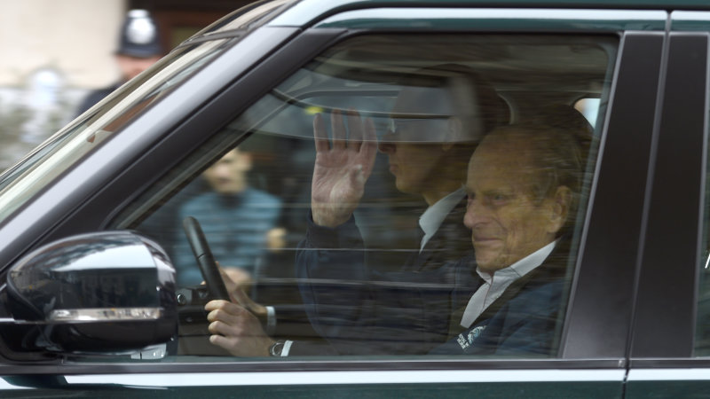 Britain's Prince Philip, 97, will not be prosecuted over car crash