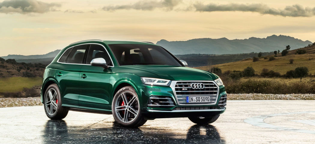 Audi SQ5 TDI is a performance diesel crossover