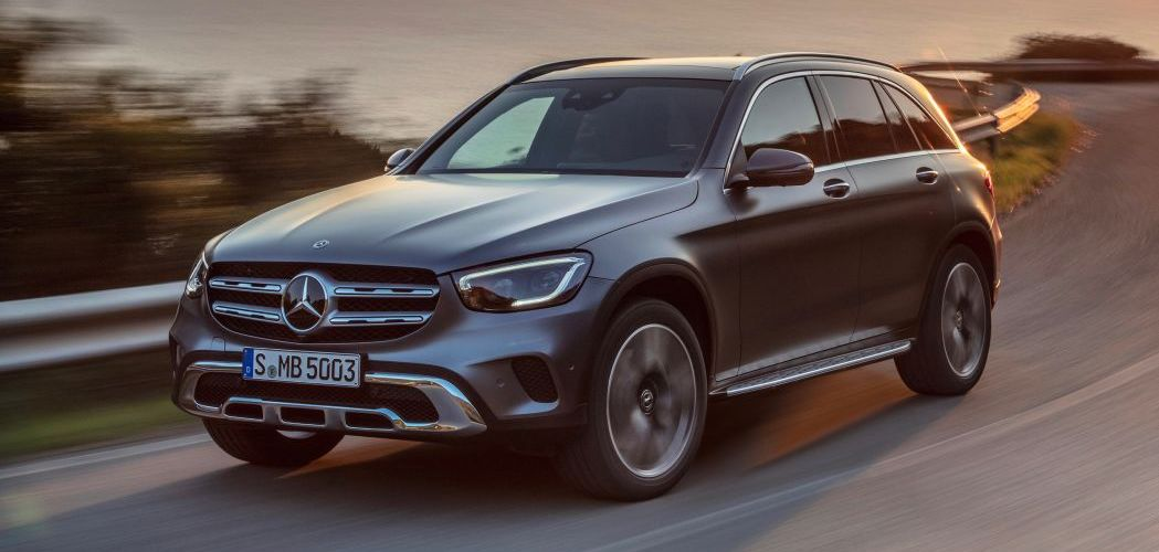 2020 Mercedes-Benz GLC-Class crossover gets new tech, new engine