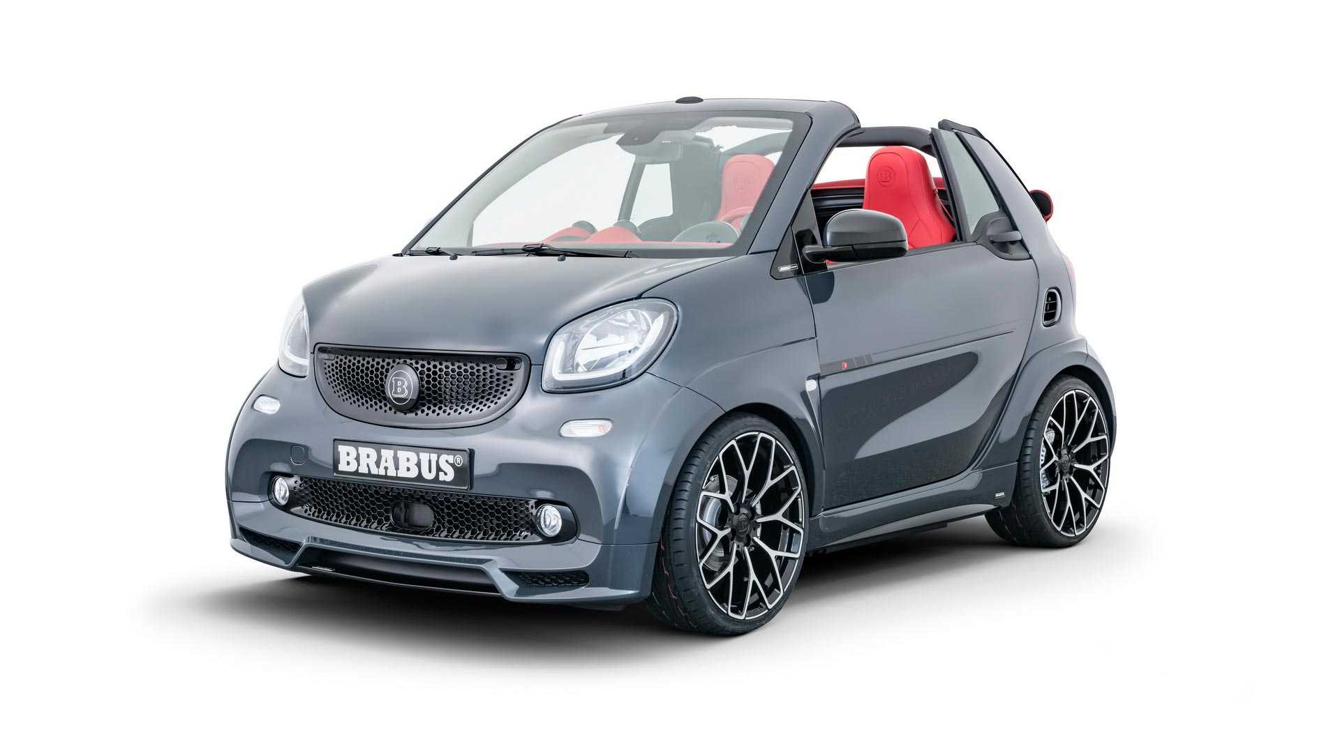 Brabus gives this Smart Fortwo a name that's bigger than the car.