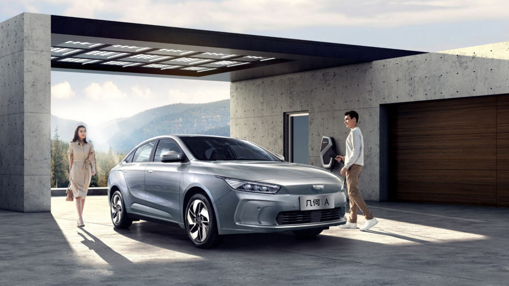 China's Geely launches new premium electric car brand called Geometry