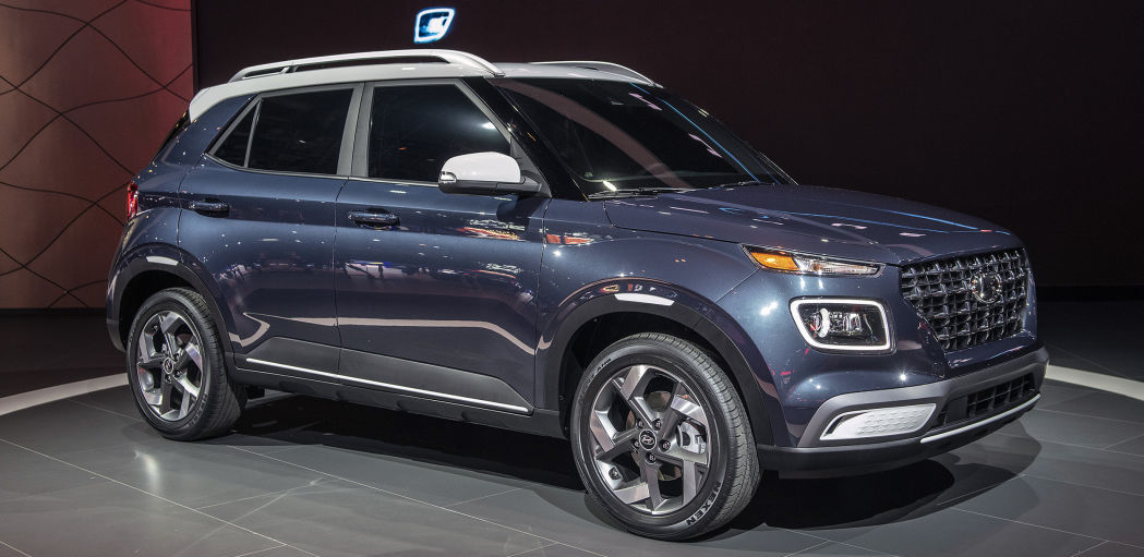2020 Hyundai Venue is a smaller-than-Kona subcompact crossover