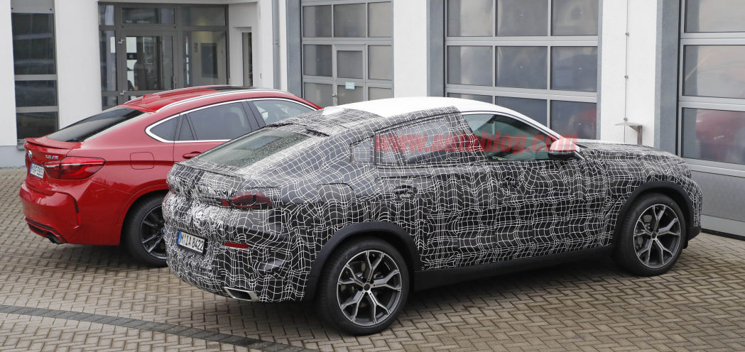2020 BMW X6 spied at the Nurburgring with its interior exposed