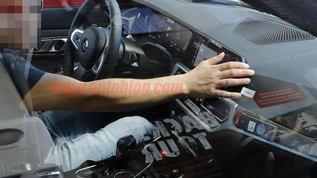 2020 BMW M3 spy shots reveal the performance sedan's interior