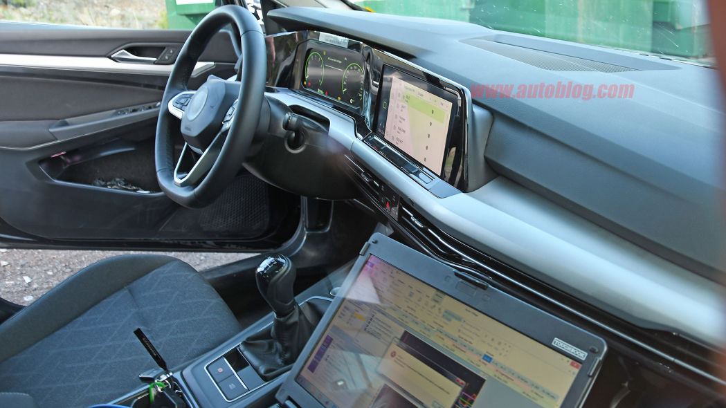 VW Golf 8: Here's the first look at its minimalistic interior