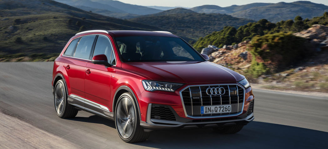 2020 Audi Q7 revealed with new styling and Audi's newest tech