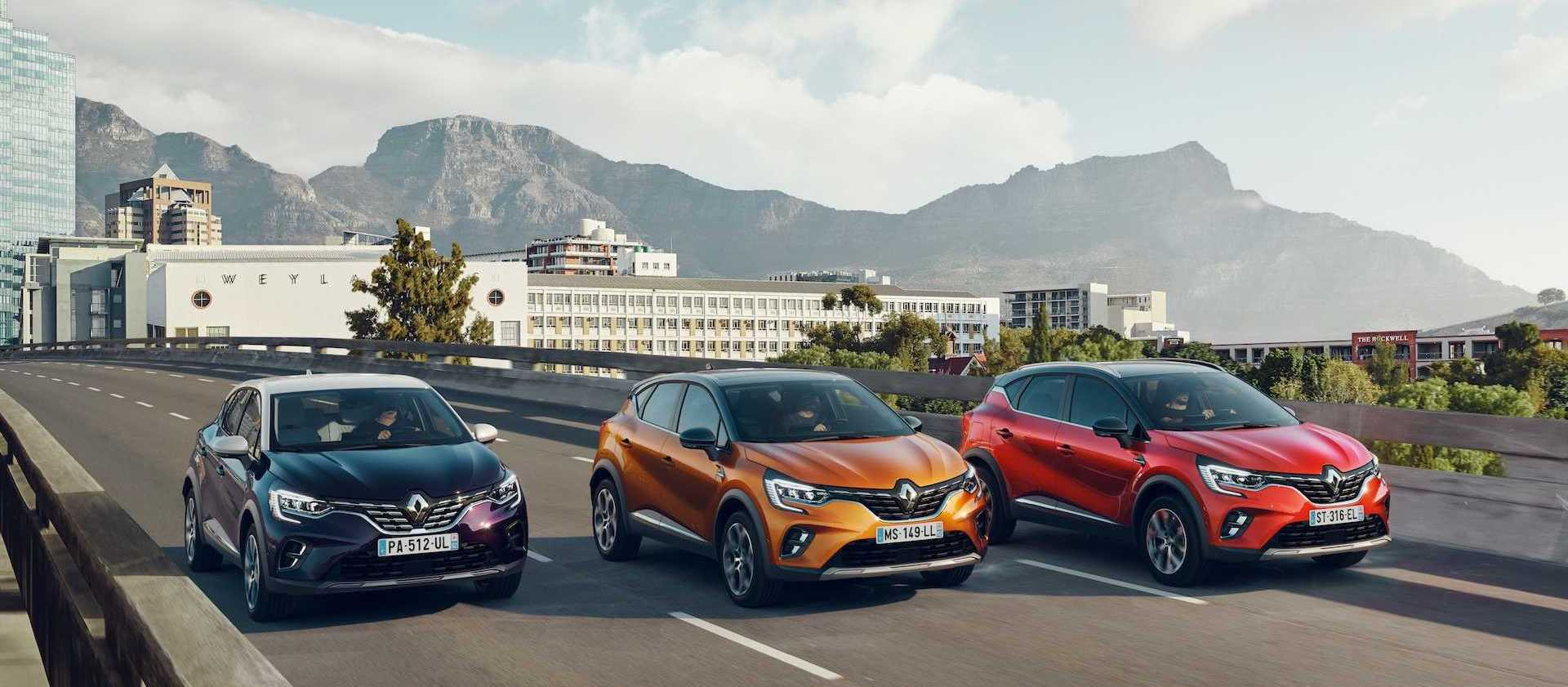 2020 Renault Captur Breaks Cover With Familiar Look, New Tech