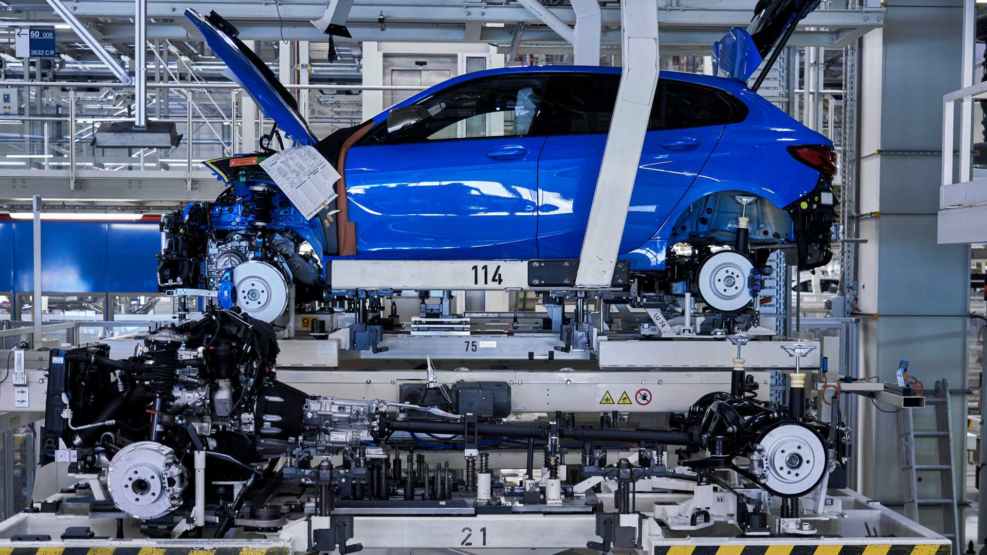 BMW 1 Series Enters Front-Wheel-Drive Era As Production Starts