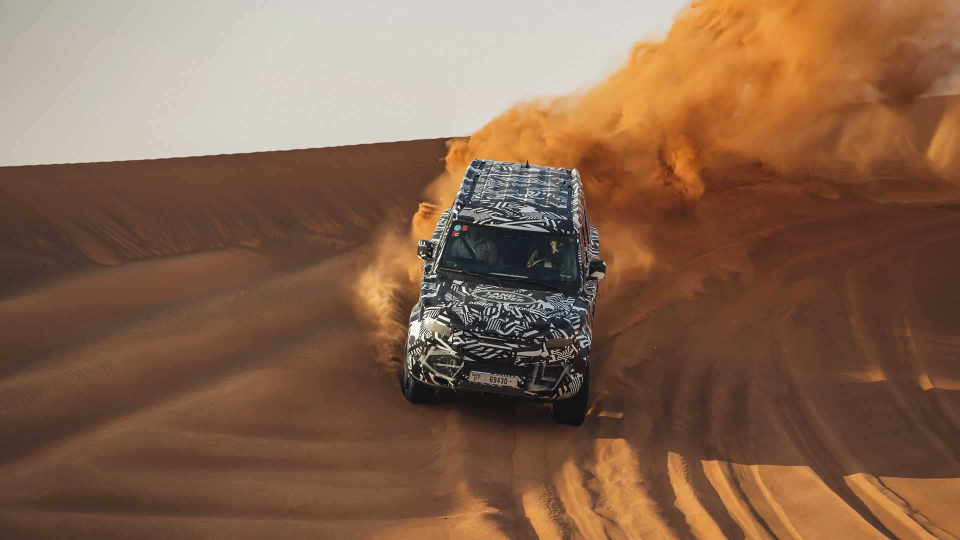 Land Rover And Red Cross Tested 2020 Defender In The Desert