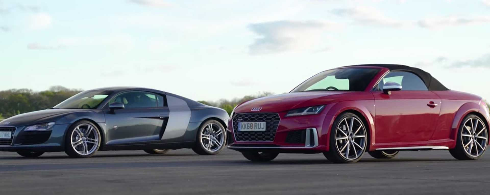 See 2008 Audi R8 V8 Drag Race The Latest TTS Roadster