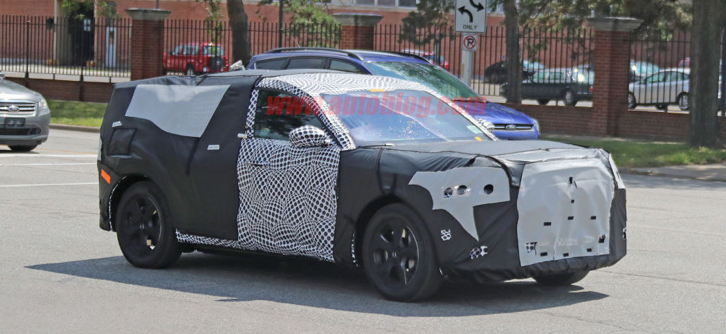 2021 Ford Mach E Mustang-inspired electric crossover breaks cover