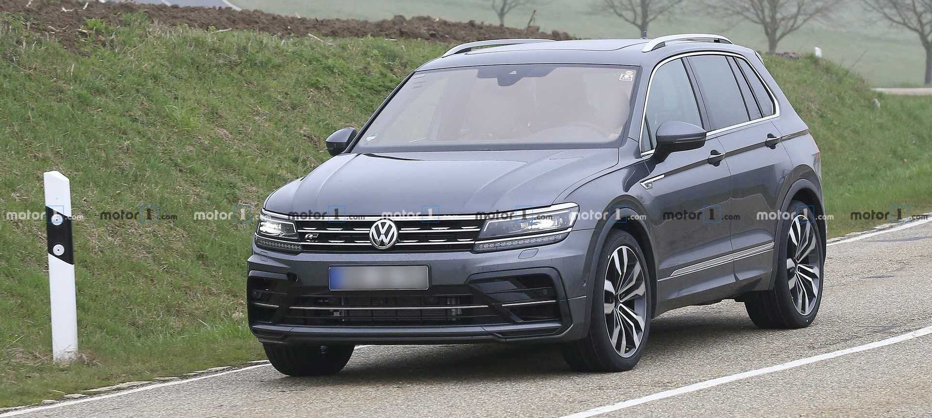 VW Tiguan Facelift and Tiguan R Concept Due In 2020