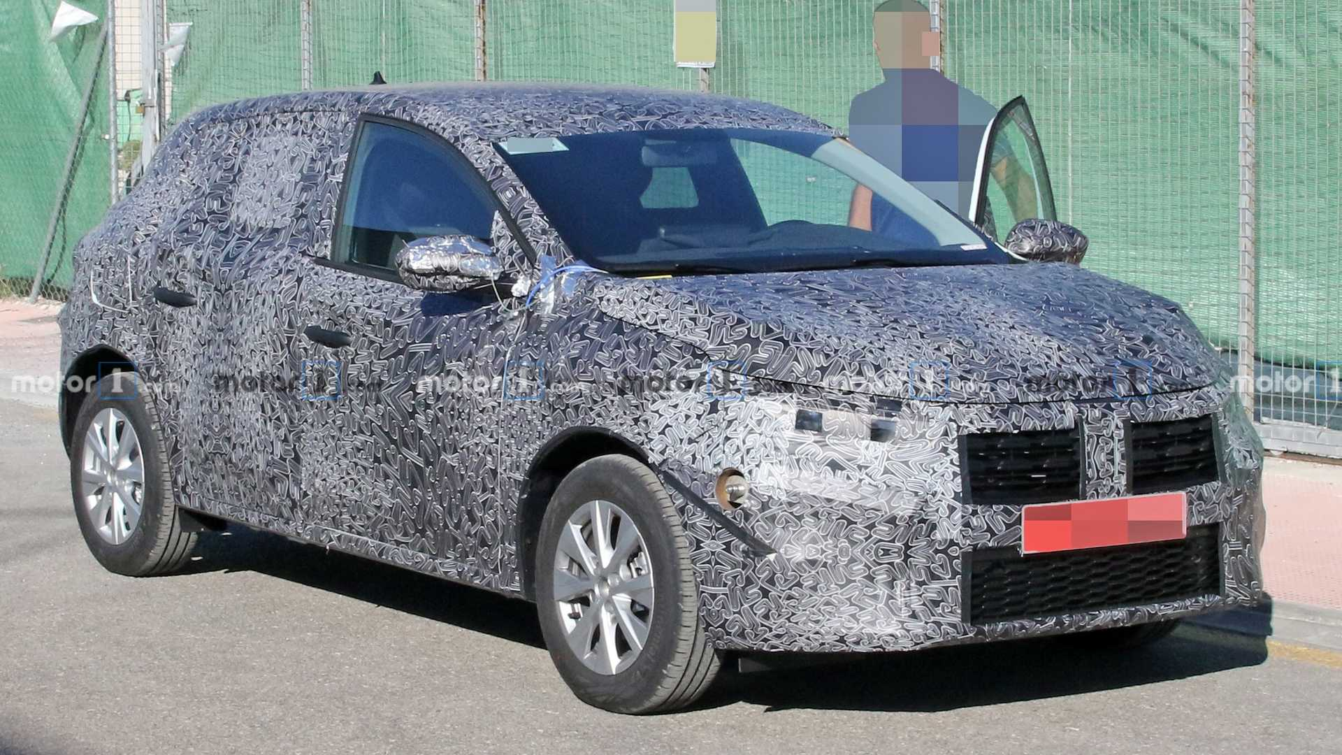 All-New Dacia Sandero Spied For The First Time