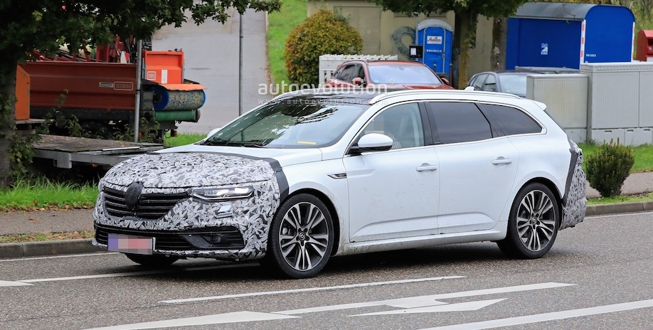 2021 Renault Talisman Spied With New Features on Wagon Body