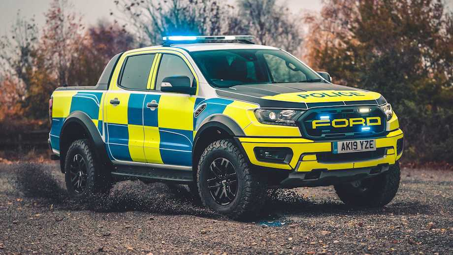 Ford Focus ST And Ranger Raptor Become Police Pursuit Cars