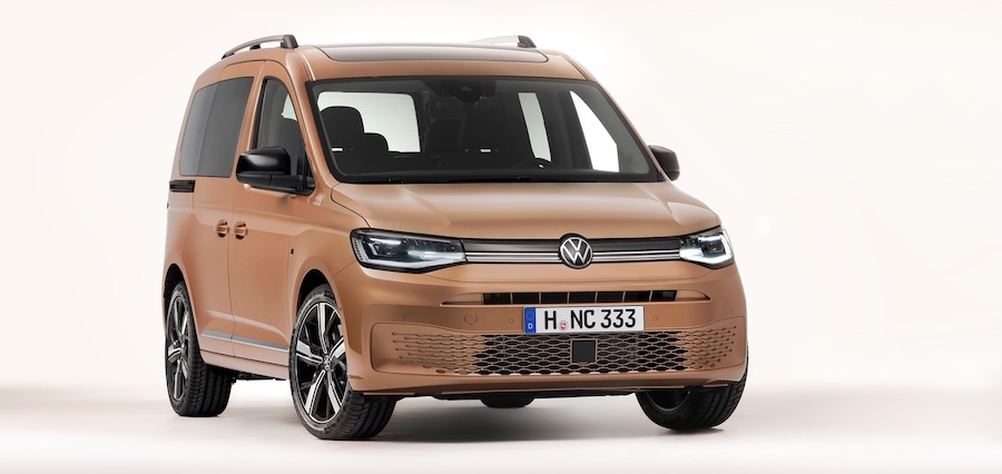 2021 Volkswagen Caddy Leaked Official Photos Confirm New Rear Suspension System