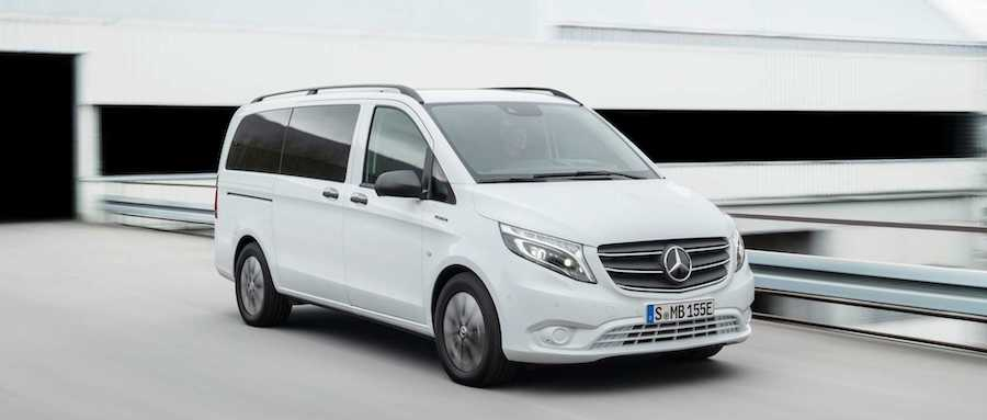 2020 Mercedes-Benz Vito Gets All-Electric eVito Tourer Model