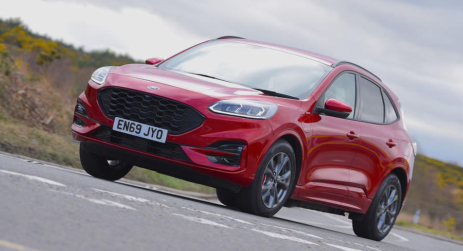 Ford Kuga 2.5 PHEV ST-Line 2020 UK review