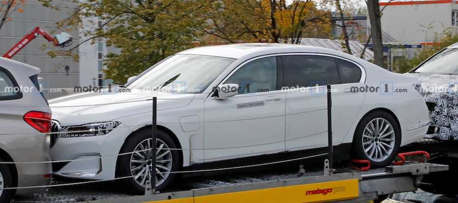BMW 7 Series Electric Rumored To Have At Least 650 Horsepower