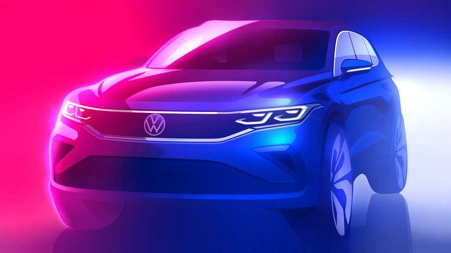 2021 Volkswagen Tiguan Mid-Cycle Facelift Teased